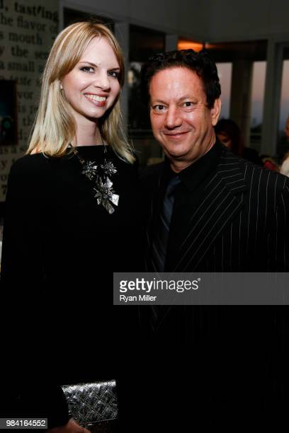 Kelly Moses and Andy Moses attend Icons of Style A Century of Fashion Photography 19112011 exhibition opening at The J Paul Getty Museum on Monday...