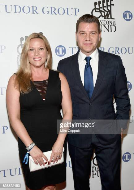 Kelly Murro and Tom Murro attend the 32nd Annual Great Sports Legends Dinner To Benefit The Miami Project/Buoniconti Fund To Cure Paralysis at New...