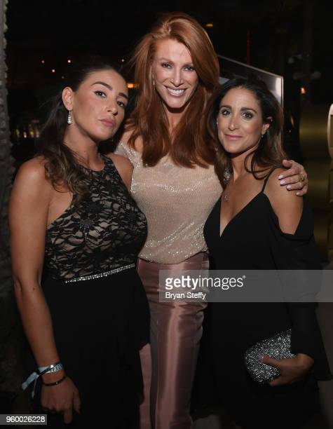 Kelly Nahim actress/model Angie Everhart and Emma Baruk attend VEGAS Magazine's 15th anniversary party at the Red Rock Casino Resort and Spa on May...