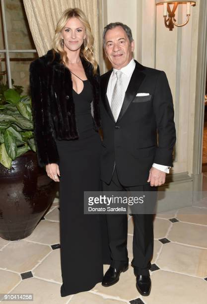 Kelly Noonan Gores and Alec Gores attend Learning Lab Ventures Gala in Partnership with NETAPORTER on January 25 2018 in Beverly Hills California