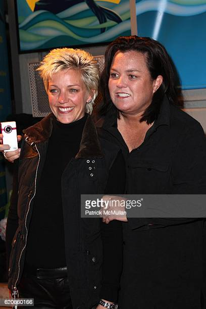 Kelly O'Donnell and Rosie O'Donnell attend Opening Night for Broadway's THE LITTLE MERMAID at Lunt-Fontaine Theatre on January 10, 2008 in New York...