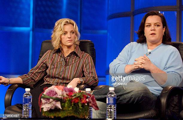 Kelly O'Donnell and Rosie O'Donnell during 2006 TCA HBO Networks - Presentation at Ritz Carlton Hotel, Pavilion Room in Pasadena, California, United...