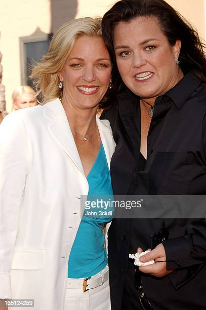 Kelly O'Donnell and Rosie O'Donnell during 58th Annual Creative Arts Emmy Awards - Arrivals at Shrine Auditorium in Los Angeles, California, United...
