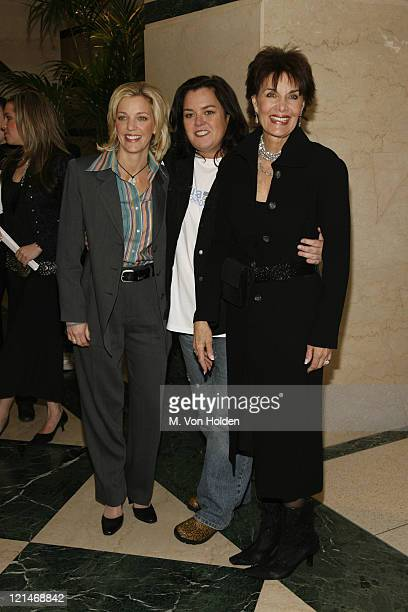 "Kelly O'Donnell, Rosie O'Donnell, Linda Dano during HBO's Premiere of ""All Aboard! Rosie's Family Cruise"" at HBO Theatre in New York, New York,..."