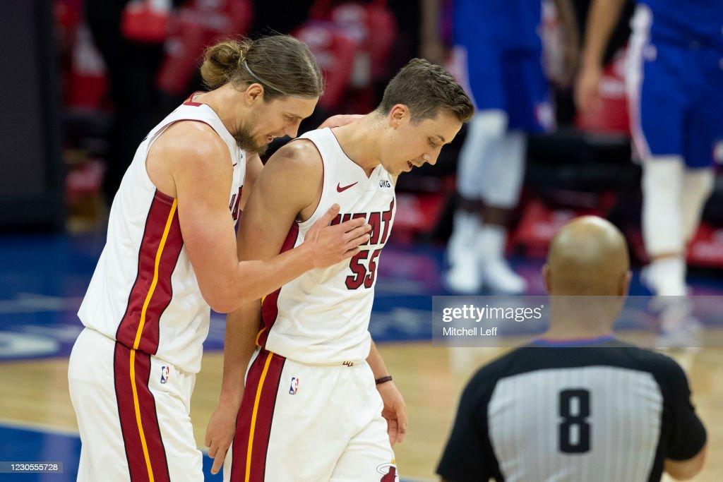 Miami Heat v Philadelphia 76ers : News Photo