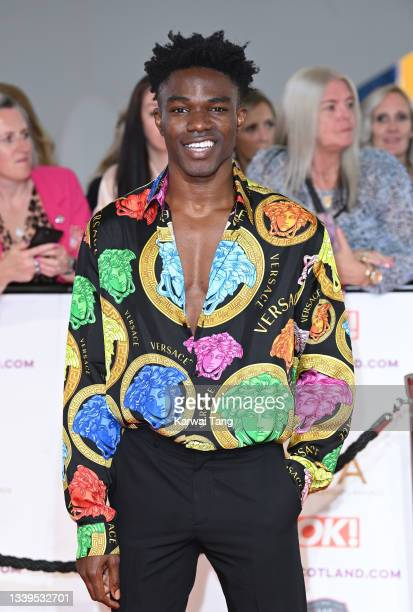 Kelly Osasere attends the National Television Awards 2021 at The O2 Arena on September 09, 2021 in London, England.