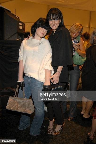 Kelly Osborne and Allie Baron attend Derek Anderson and Victor Kubicek Supper for Stevie Wonder and Kai Milla at The Carlyle on September 11 2005 in...