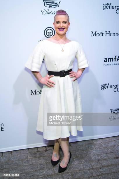 Kelly Osborne attends amfAR generationCURE Solstice 2017 at Mr Purple on June 20 2017 in New York City