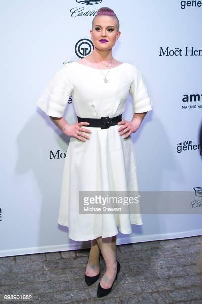 Kelly Osborne attends amfAR generationCURE Solstice 2017 at Mr. Purple on June 20, 2017 in New York City.