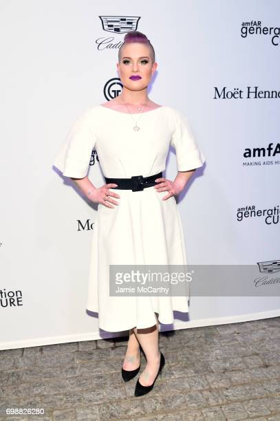 Kelly Osborne attends the amfAR generationCURE Solstice 2017 at Mr Purple on June 20 2017 in New York City