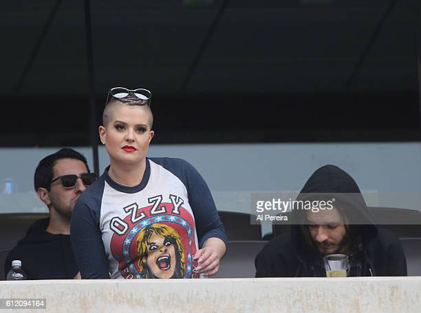 Kelly Osborne attends the New York Jets versus Seattle Seahawks game at MetLife Stadium on October 2 2016 in East Rutherford New Jersey