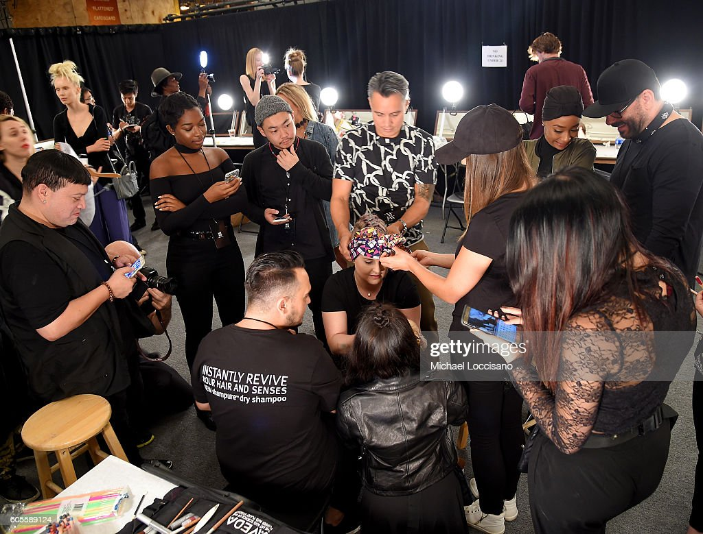 NY: Xuly Bet - Backstage - September 2016 - New York Fashion Week: The Shows