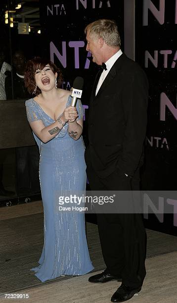 Kelly Osbourne and Chris Tarrant arrive at the National Television Awards 2006 at the Royal Albert Hall October 31 2006 in London England