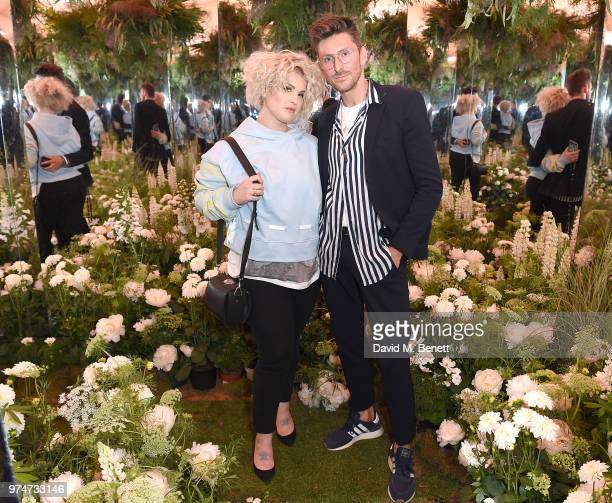 Kelly Osbourne and Henry Holland attends Maison St Germain x House of Holland Opening Night in Mayfair on June 14 2018 in London England