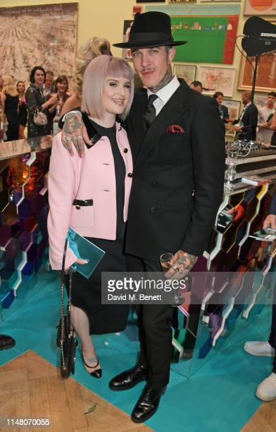 Kelly Osbourne and Jimmy Q attend The Royal Academy Of Arts Summer Exhibition preview party on June 4, 2019 in London, England.