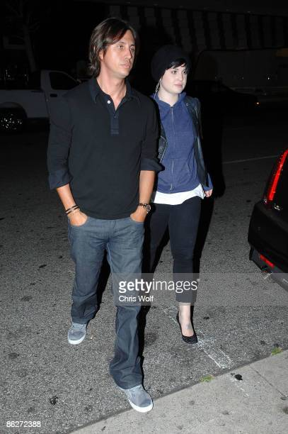 Kelly Osbourne and Jonathan Cheban sighting on April 28 2009 in Beverly Hills California
