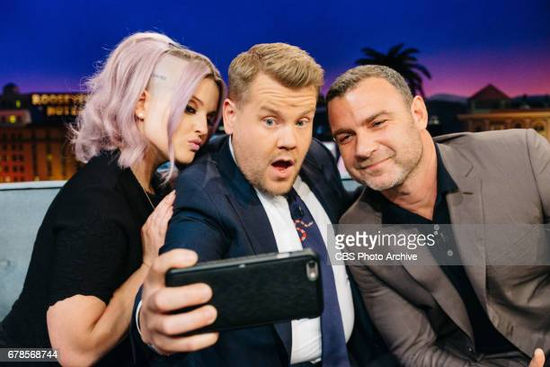 Kelly Osbourne and Liev Schreiber chat with James Corden during 'The Late Late Show with James Corden' Tuesday May 2 2017 On The CBS Television...