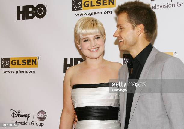 Kelly Osbourne and Louis van Amstel arrive to the 5th Annual GLSEN Respect Awards held at the Beverly Hills Hotel on October 9 2009 in Beverly Hills...