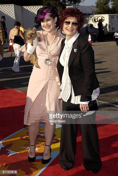 Kelly Osbourne and mother Sharon Osbourne attend The 2004 Teen Choice Awards held at Universal Amphitheater on August 8, 2004 in Universal City,...