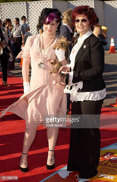 Kelly Osbourne and mother Sharon Osbourne attend The 2004 Teen Choice Awards held on August 8, 2004 at Universal Amphitheater, in Universal City,...