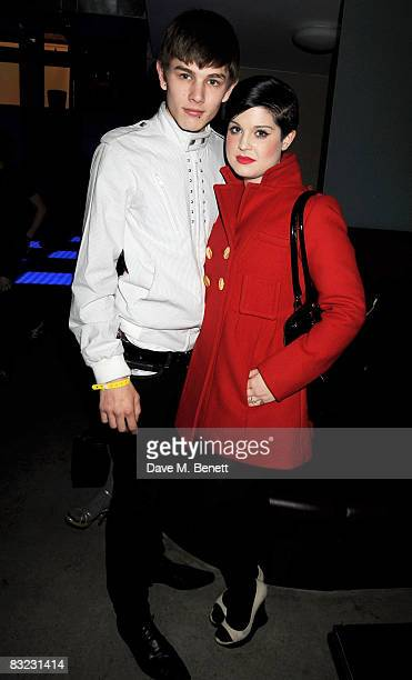 Kelly Osbourne and partner Luke Worrell attend The Diesel xXx Creative Experiment Party as Diesel celebrates its 30th Birthday at Matter in the O2...