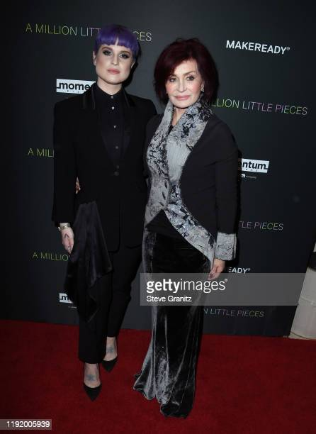 """Kelly Osbourne and Sharon Osbourne attend the special screening of Momentum Pictures' """"A Million Little Pieces"""" at The London Hotel on December 04,..."""