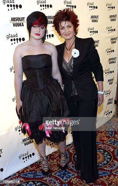 Kelly Osbourne and Sharon Osbourne during The 15th Annual GLAAD Media Awards at The Westin St Francis in San Francisco California United States