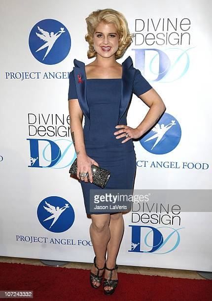 Kelly Osbourne arrives at the 2010 Divine Design gala at The Beverly Hilton on December 1 2010 in Beverly Hills California