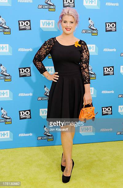 Kelly Osbourne arrives at the 2013 Do Something Awards at Avalon on July 31 2013 in Hollywood California