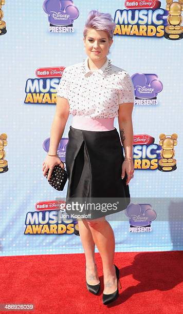 Kelly Osbourne arrives at the 2014 Radio Disney Music Awards at Nokia Theatre L.A. Live on April 26, 2014 in Los Angeles, California.