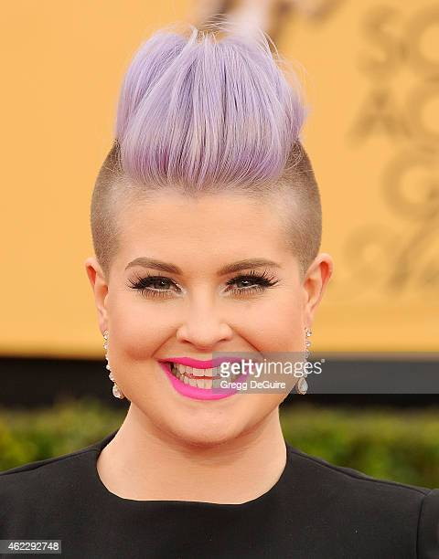 Kelly Osbourne arrives at the 21st Annual Screen Actors Guild Awards at The Shrine Auditorium on January 25 2015 in Los Angeles California