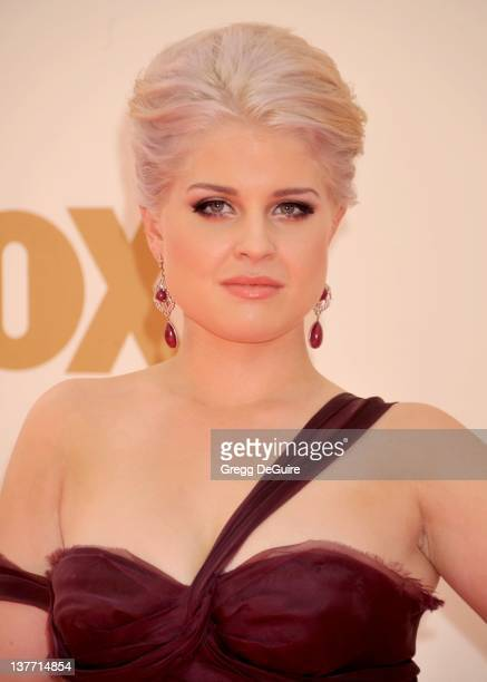 Kelly Osbourne arrives at the Academy of Television Arts Sciences 63rd Primetime Emmy Awards at Nokia Theatre LA Live on September 18 2011 in Los...