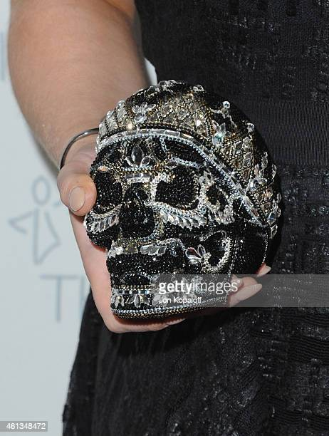 Kelly Osbourne arrives at The Art Of Elysium 8th Annual Heaven Gala at Hangar 8 on January 10 2015 in Santa Monica California