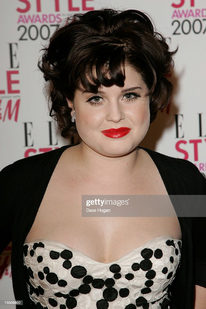 Kelly Osbourne arrives at the ELLE Style Awards at the Roundhouse Theatre February 12, 2007 in London, England.