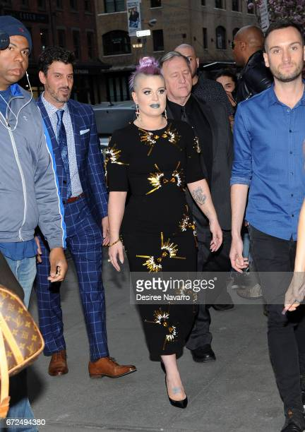 Kelly Osbourne arrives for BELLA New York Spring Issue cover party at Bagatelle on April 24 2017 in New York City