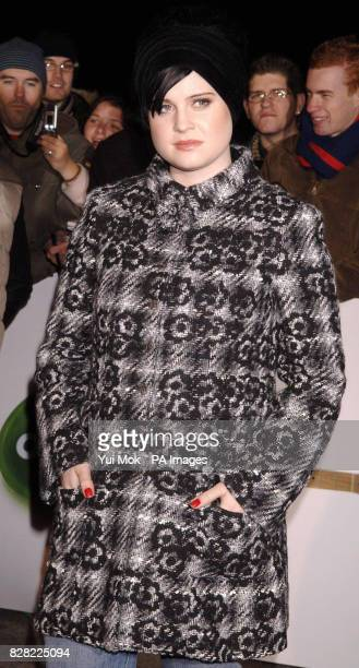 Kelly Osbourne arrives for the UK Music Hall Of Fame 2005 live final at the Alexandra Palace north London Wednesday 16 November 2005 The live final...