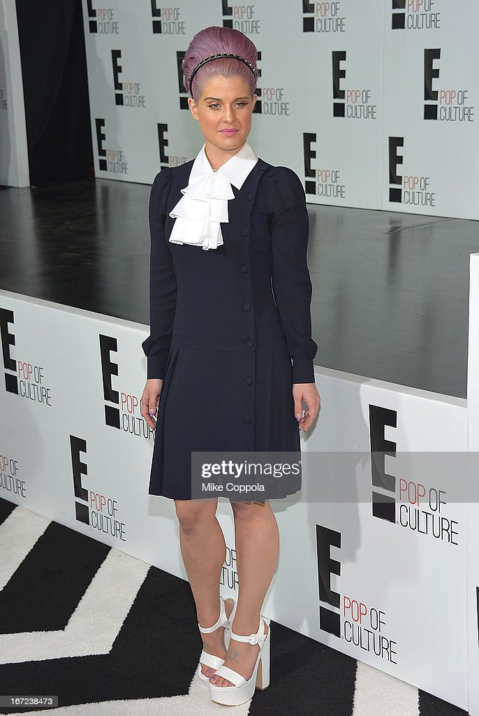 Kelly Osbourne attend the E! 2013 Upfront at The Grand Ballroom at Manhattan Center on April 22, 2013 in New York City.