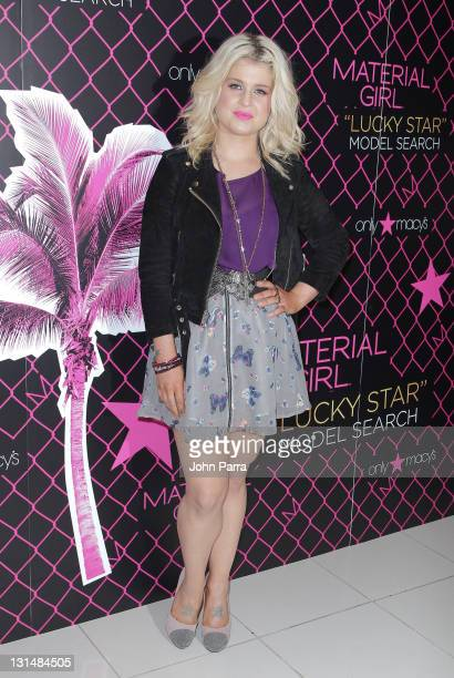 Kelly Osbourne attends Material Girls Lucky Stars Model Search at Macys in Dadeland on November 4 2011 in Miami Florida