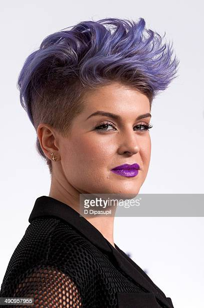 Kelly Osbourne attends the 2014 NBCUniversal Cable Entertainment Upfronts at The Jacob K Javits Convention Center on May 15 2014 in New York City