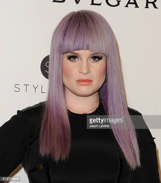 Kelly Osbourne attends the 24th annual Elton John AIDS Foundation's Oscar viewing party on February 28 2016 in West Hollywood California
