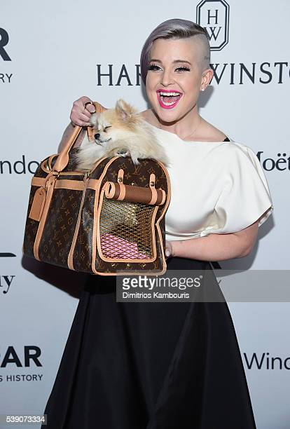 Kelly Osbourne attends the 7th Annual amfAR Inspiration Gala at Skylight at Moynihan Station on June 9 2016 in New York City