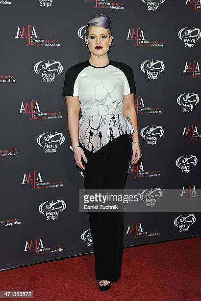 Kelly Osbourne attends the AAFA American Image Awards at 583 Park Avenue on April 27 2015 in New York City