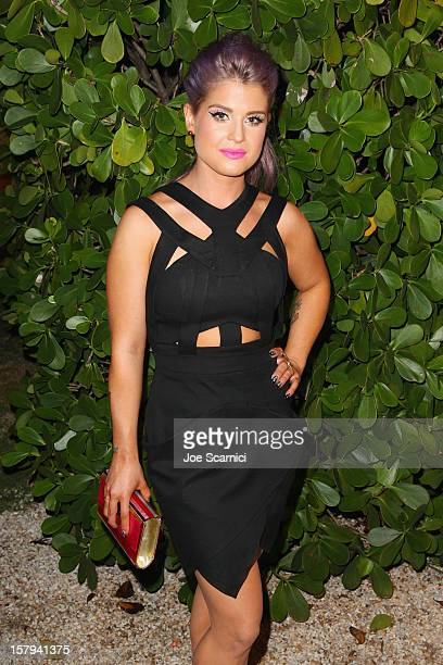 Kelly Osbourne attends the after party for the OHWOW HTC celebration of the release of 'TERRYWOOD' sponsored by GQ and Disaronno at The Standard...