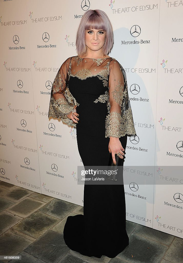 Kelly Osbourne attends the Art of Elysium's 7th annual Heavan gala at Skirball Cultural Center on January 11, 2014 in Los Angeles, California.