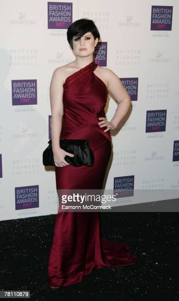 Kelly Osbourne attends the British Fashion Awards at the Royal Horticultural Halls November 27, 2007 in London, England.