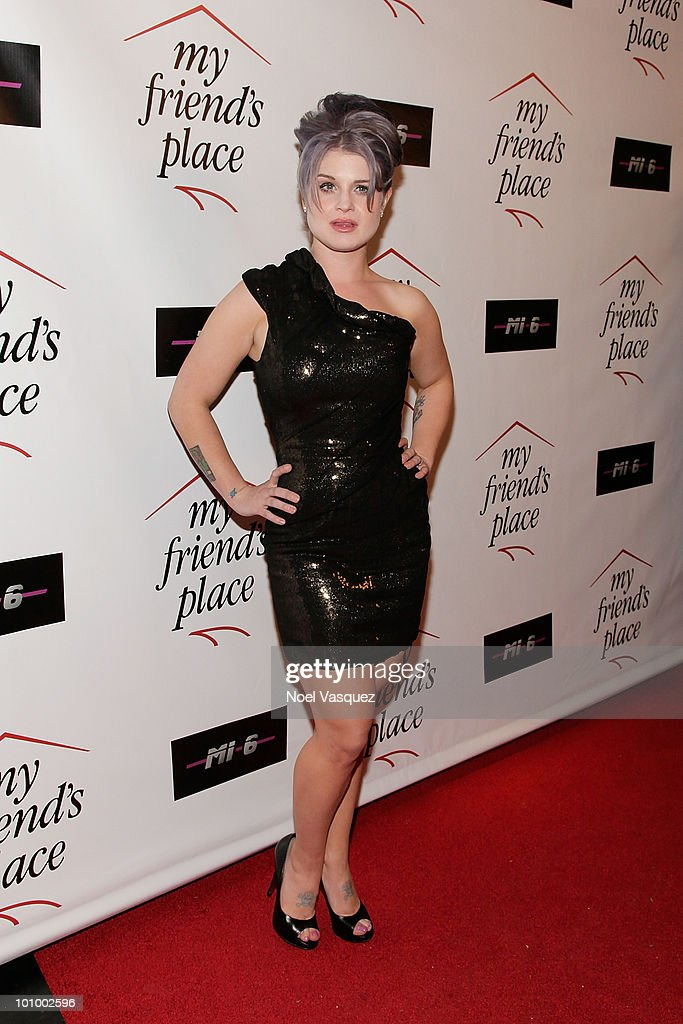 Kelly Osbourne attends the Charity Clothing Drive benefiting 'My Friend's Place' hosted by Kelly Osbourne at Mi6 on May 26, 2010 in West Hollywood, California.