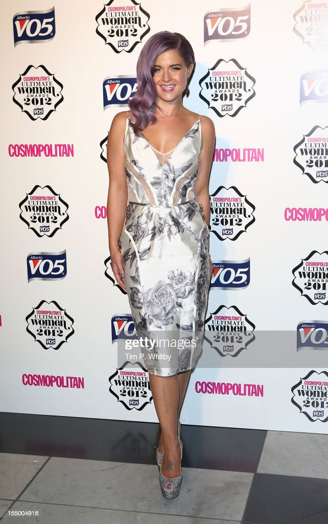 Kelly Osbourne attends the Cosmopolitan Ultimate Woman of the Year awards at Victoria & Albert Museum on October 30, 2012 in London, England.