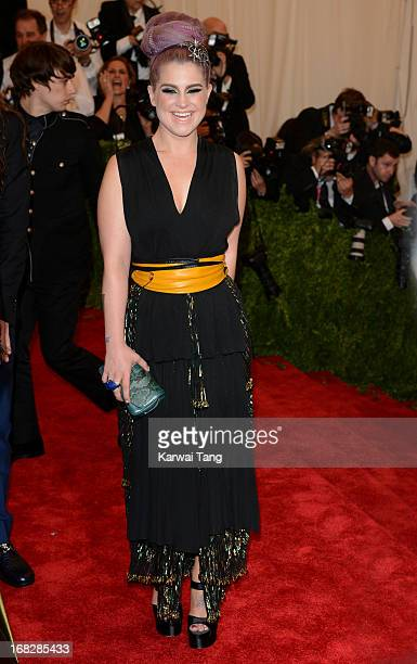 Kelly Osbourne attends the Costume Institute Gala for the PUNK Chaos to Couture exhibition at the Metropolitan Museum of Art on May 6 2013 in New...