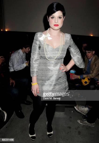 Kelly Osbourne attends The Diesel xXx Creative Experiment Party as Diesel celebrates its 30th Birthday at Matter in the O2 Arena on October 11 2008...