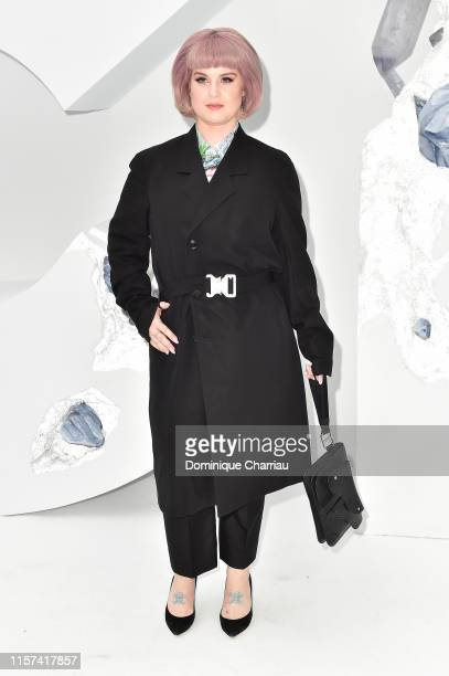 Kelly Osbourne attends the Dior Homme Menswear Spring Summer 2020 show as part of Paris Fashion Week on June 21, 2019 in Paris, France.
